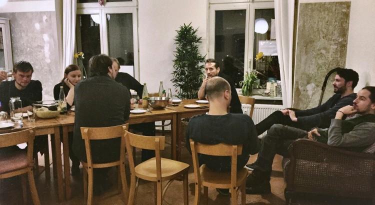 Bild von der Party